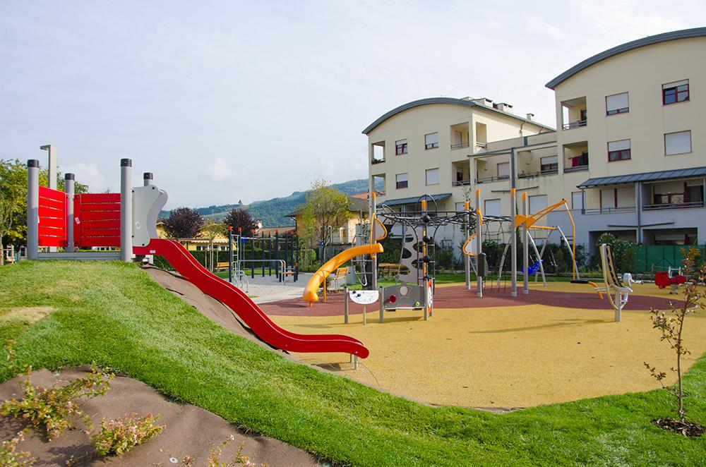 area giochi e fitness