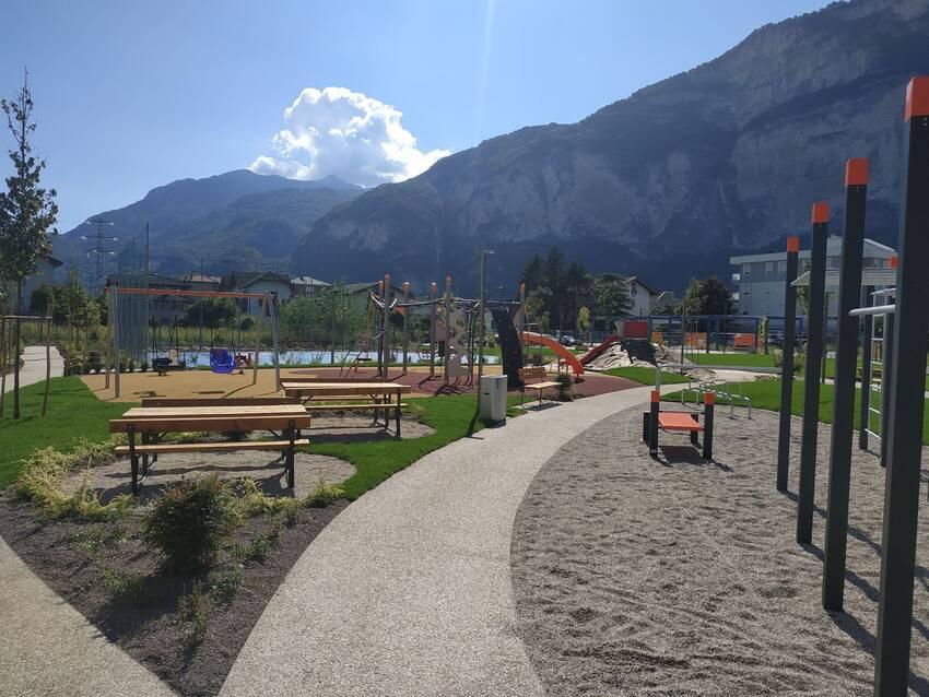 25 ottobre 2020: il comune consegna ufficialmente il parco a Roncafort