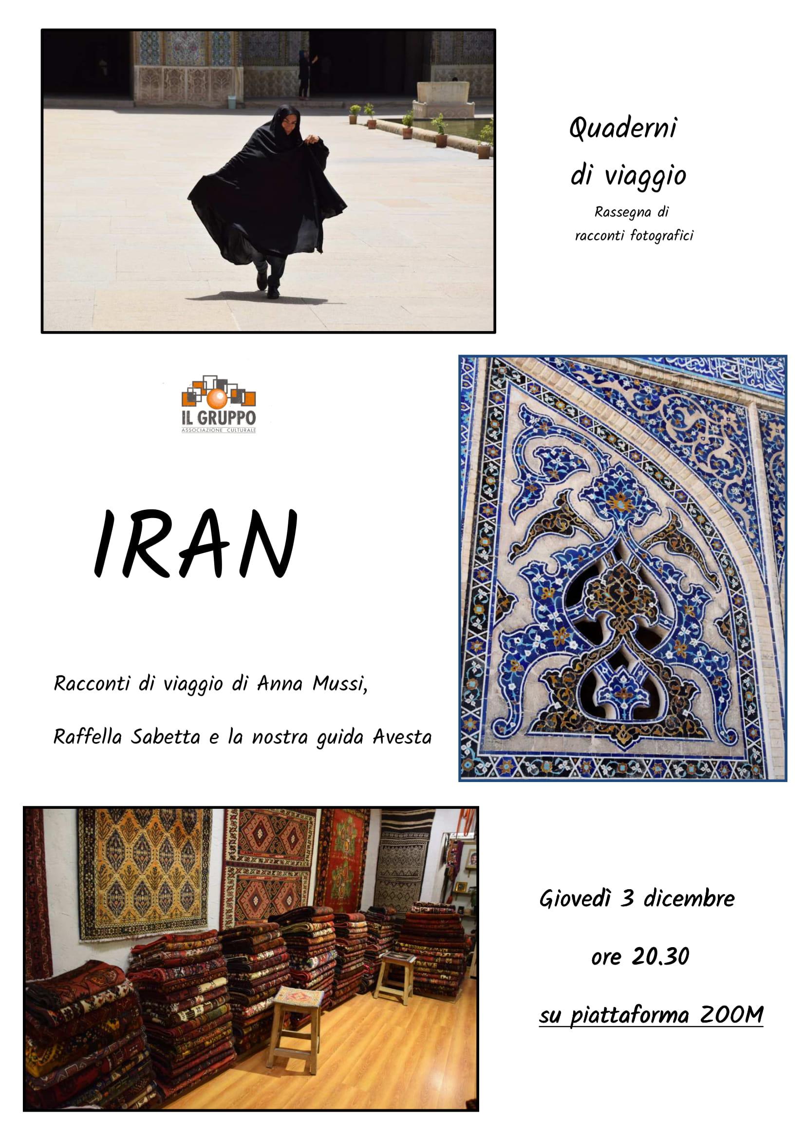 IRAN, QUADERNI DI VIAGGIO